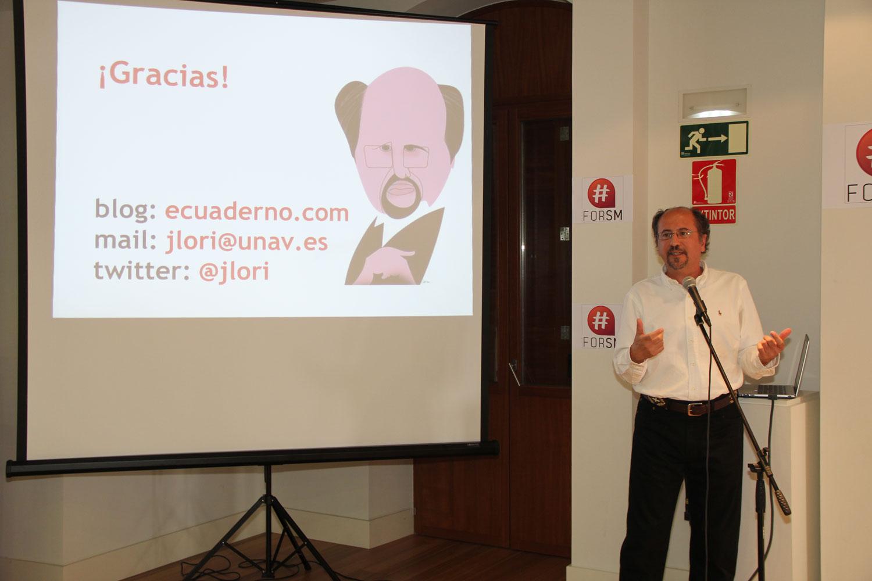 @jlori en la conferencia de clausura