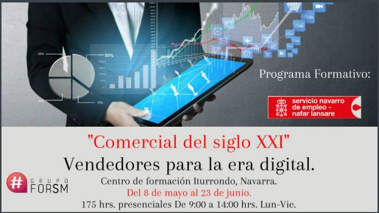 Comercial del siglo XXI.