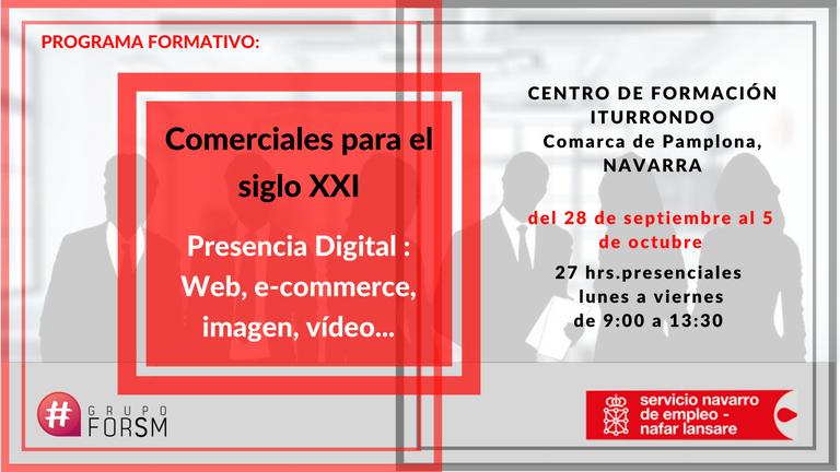 Presencia digital para la comercialización de tu Marca.